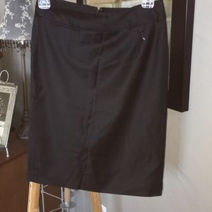 3/15$👛 JCrew black wool pencil skirt